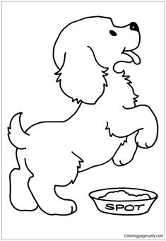 Dog Coloring Pages Another Picture And Gallery About coloring pages dogs : Simple Dog Coloring Page Dog Coloring Pages to […] Make your world more colorful with free printable coloring pages from italks. Our free coloring pages for adults and kids. Puppy Coloring Pages, Coloring Pages To Print, Coloring Book Pages, Printable Coloring Pages, Coloring Pages For Kids, Coloring Sheets, Kids Coloring, Online Coloring, Dog Pictures To Color