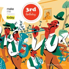 HAPPY 3RD BIRTHDAY MAKEMEHAPPYTODAY!  http://www.makemehappytoday.com/happy-3rd-birthday-makemehappytoday/