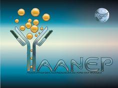 Immunoglobuline E & Pollens AANEP logo by David Damour