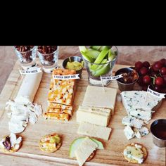 The perfect cheese platter