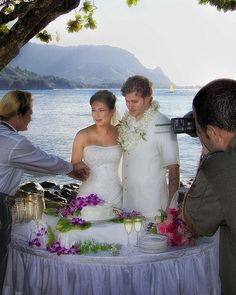 Our son and new daughter-in-law following their wedding in 2008. We were in Hawaii on the island Kauai. Best and most relaxing vacation we have ever taken. Since this photo was taken they've added two grandsons to the family.   Your one-stop spot for finding suppliers of Wedding Services for the Crawley area - http://www.crawleyweddingsuppliers.uk/