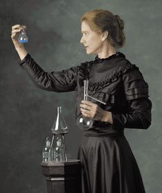 Marie Curie ~(1867-1934) discovered that radiation came from the individual atom and not a group of molecules.  She received a Nobel Prize in Chemistry in 1911 for discovering radium. She was the first woman to win a Nobel prize and the first person to win two Nobel prizes (one, with husband, Pierre, in Physics in 1903).  She died in 1934 from leukemia having been exposed excessively to radiation before it was a known danger.