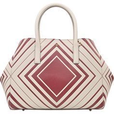Anya Hindmarch Diamonds Ebury Featherweight Tote ($877) ❤ liked on Polyvore featuring bags, handbags, tote bags, printed, colorful tote bags, red purse, colorful handbags, studded handbags and tote purses