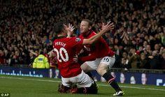 Robin van Persie & Wayne Rooney. DEADLY DUO