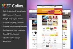 ZT Colias ecommerce joomla template by @Graphicsauthor