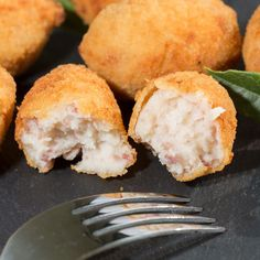 Croquettes de pommes de terre façon tartiflette