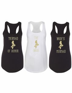 5cc49c8cf Bride Tank Top - Bridal Shower Gifts. Beach BridesmaidsBridesmaid Tanks Mermaid ...