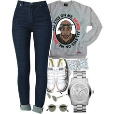 All eyes on me., created by swagbaby787 on Polyvore