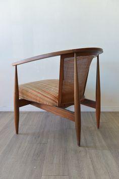Seymour J. Weiner; Lounge Chair for Kodawood, 1960s.