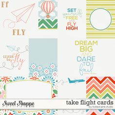 Take Flight Cards by Tickled Pink Studio
