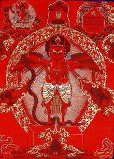 Garuda (Red Thangka)