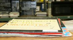 Unbeatable deal! $1 records! Only at CSU Surplus Property!