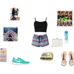 at the mall taking sefiles read the descripiton by qveen-veya on Polyvore featuring polyvore fashion style Topshop Monsoon NIKE Oasis Casetify