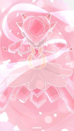 Day - Mega Diancie by AutobotTesla on DeviantArt Evolution Pokemon, Mega Pokemon, Pokemon Fan Art, Pokemon Games, Cute Pokemon, Pokemon Pink, Pokemon Mewtwo, Lugia, Resident Evil