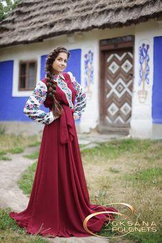 Сукня в національному стилі. http://polonets.prom.ua/