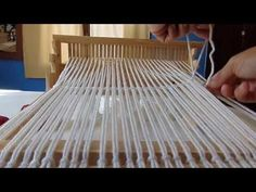 How to use 2 pickup sticks to weave a Honeycomb pattern on a rigid heddle loom. In this video I use a knitting needle for one pick up stick. Loom Weaving, Hand Weaving, Pick Up Sticks, Honeycomb Pattern, Knitting Needles, Handmade Crafts, Outdoor Blanket, Textiles, Simple