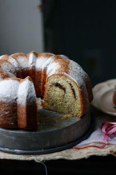 Indigo Scones: Cinnamon Swirl Kuchen