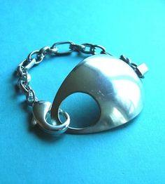 Hooked on SpoonZ Silverware Bracelet. $29.99, via Etsy.
