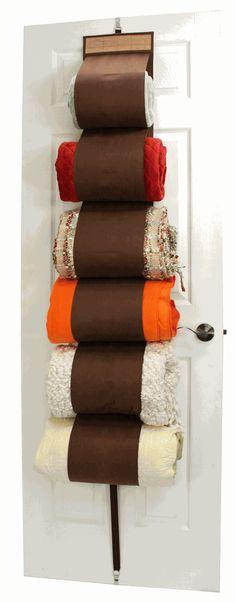 Linen Closet Storage Idea