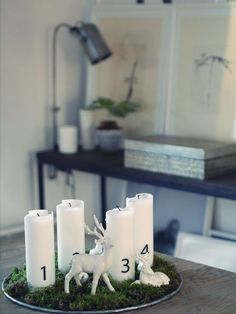 Camilla Pihl // decor Scandinavian Style, Camilla, Pillar Candles, Advent, Boutique, Holiday Ideas, Decor, Party, Weihnachten