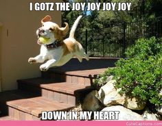 I Gotz the Joy Joy Joy Joy, Down in My Heart
