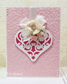Embellished Dreams: CAS Valentine Card