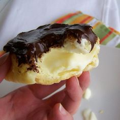 Easy homemade eclairs.
