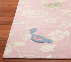 Adrianna Rug #PotteryBarnKids Just cute, not sure if it would actually work in either girls room!