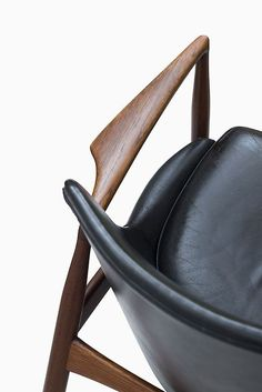 Chair - wood and leather