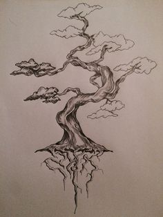 bonsai straight upright tattoo - Google Search