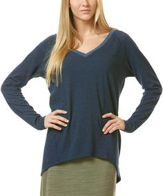 This Navy V-Neck Top is perfect! #zulilyfinds