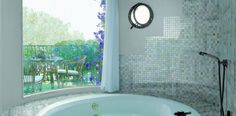 Browse our photo gallery in the Topps Tiles Style & Inspiration hub. Inspiring photography including some of our favourite tiles Aqua Bathroom, Topps Tiles, Style Tile, Interior Design Studio, Model Homes, Bathroom Inspiration, Style Inspiration, Spa, Home Decor