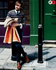 British Style with Douglas Booth, Kit Harington, David Oyelowo, and Max Irons: Wear It Now: GQ