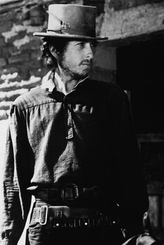 Bob Dylan in the movie Pat Garrett and Billy the Kid