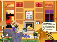 Schermata iniziale di Microsoft Bob