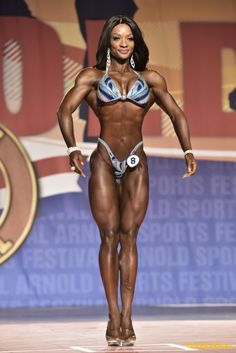 Candice Lewis-Carter - Figure International - 2016 Arnold Classic