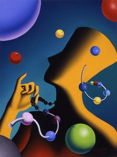 Mark Kostabi - It's All About Accessories Vintage Comic Books, Vintage Comics, Mark Kostabi, Comic Book Style, Yellow Art, Illustrations And Posters, Surreal Art, Love And Light, Figure Painting