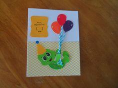 Une petite tortue te souhaite: Bon anniversaire!