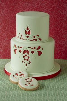 cake torta intagliata