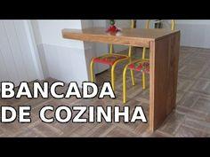 Como fazer Bancada de cozinha em L - DIY | Na oficina - S02E13