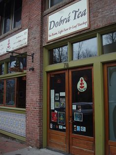 Dobra Tea in Asheville, NC - By far the best tea experience I've ever had.