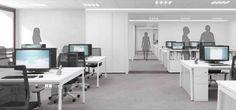 Emase Arquitectura Terciario Edificio Oficinas Office Desk, Corner Desk, Furniture, Home Decor, Hotels, Offices, Architects, Buildings, Interiors
