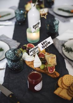 12 styled days of Christmas with West Elm | festive table decor | cheese and wine