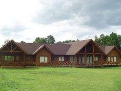 Cabin, House Styles, Projects, Home Decor, Manufactured Housing, Rooftops, Wood, Large House Plans, House Siding