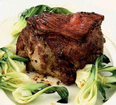 Roast crispy pork.  Ken Hom