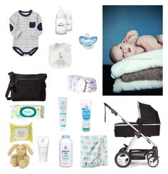 """""""Newborn"""" by noemi-1232014 ❤ liked on Polyvore featuring Mamas & Papas, Kipling, Johnson's Baby, The Honest Company, Jellycat, cute, Baby and Boy"""