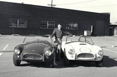 1962 Shelby Cobra 260 and 289: The AC Ace was a boring English sports car with a half-hearted Bristol engine. Carroll Shelby put the small-block Ford V8 in it and created a legend.