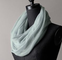 Cashmere Infinity Scarf-Restoration Hardware. many beautiful colors
