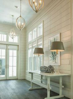 Pizitz Home & Cottage Design | bluegrass + boxwood Design Entrée, House Design, Wall Design, Garden Design, Coastal Living, Coastal Decor, Coastal Curtains, Coastal Rugs, Coastal Bedding