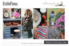 Nuevo look en la web!  Great inspiration boards!